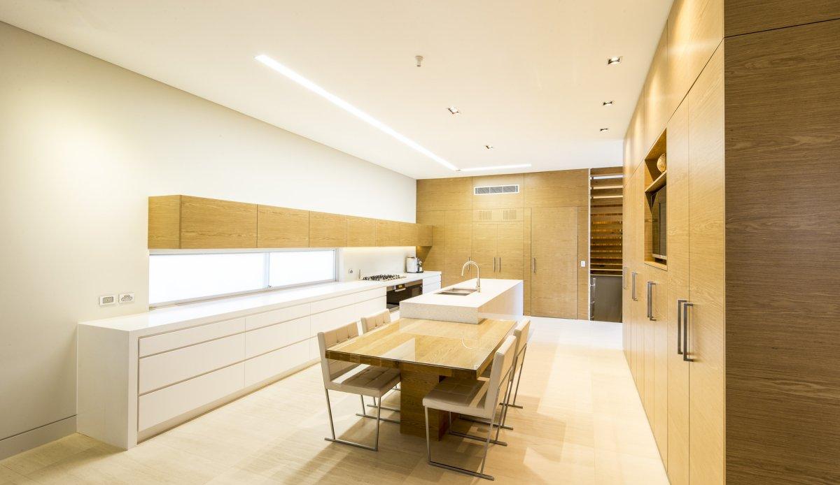 Kitchen Island, Contemporary Home in Strathfield, Australia