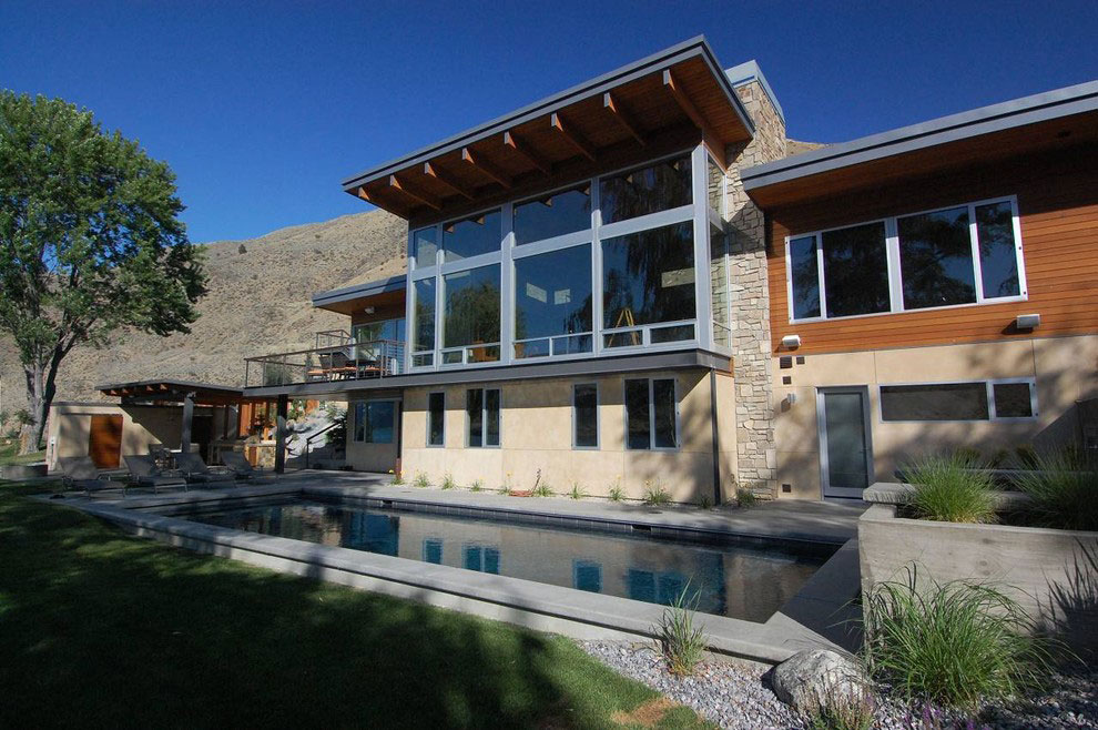 Outdoor Pool, Stunning Home on the Columbia River in Washington