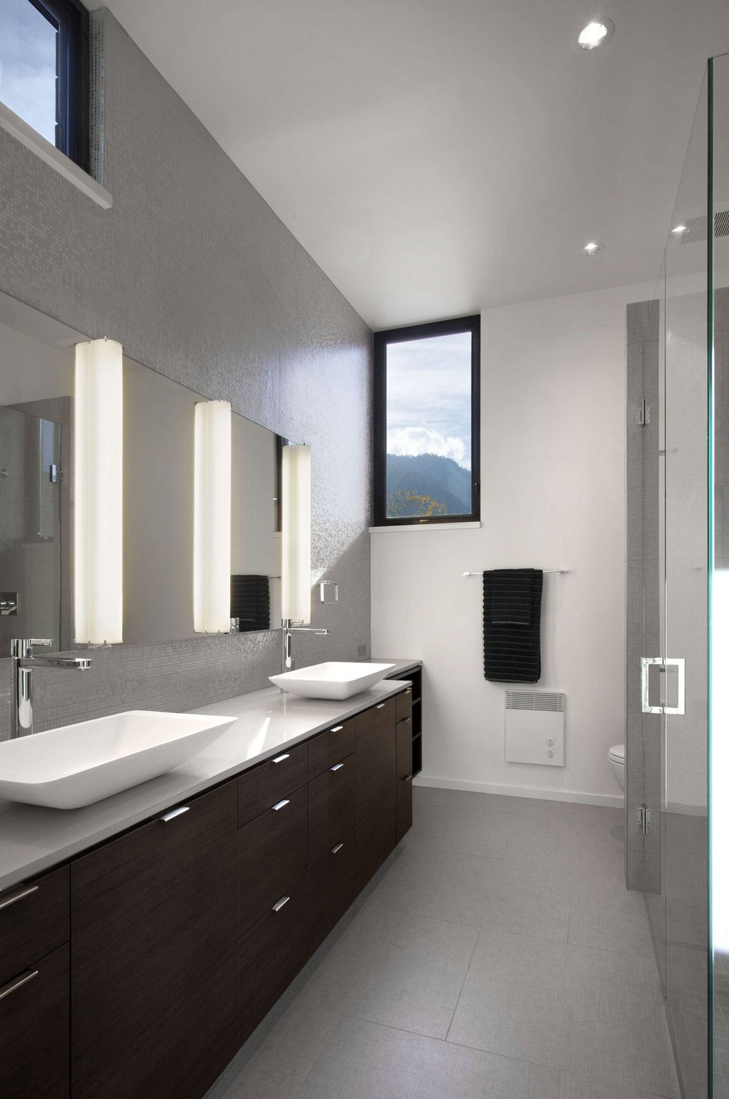 Bathroom, Double Sinks, Stylish Townhomes near Boulder, Colorado
