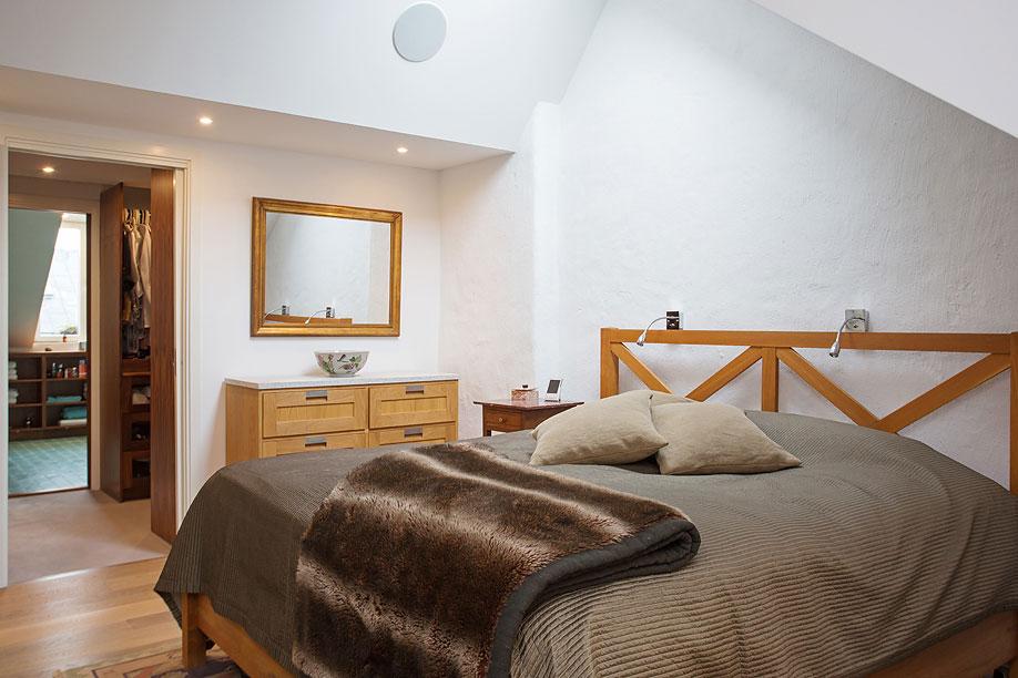 Bedroom, Loft Apartment in Kungsholmen, Stockholm