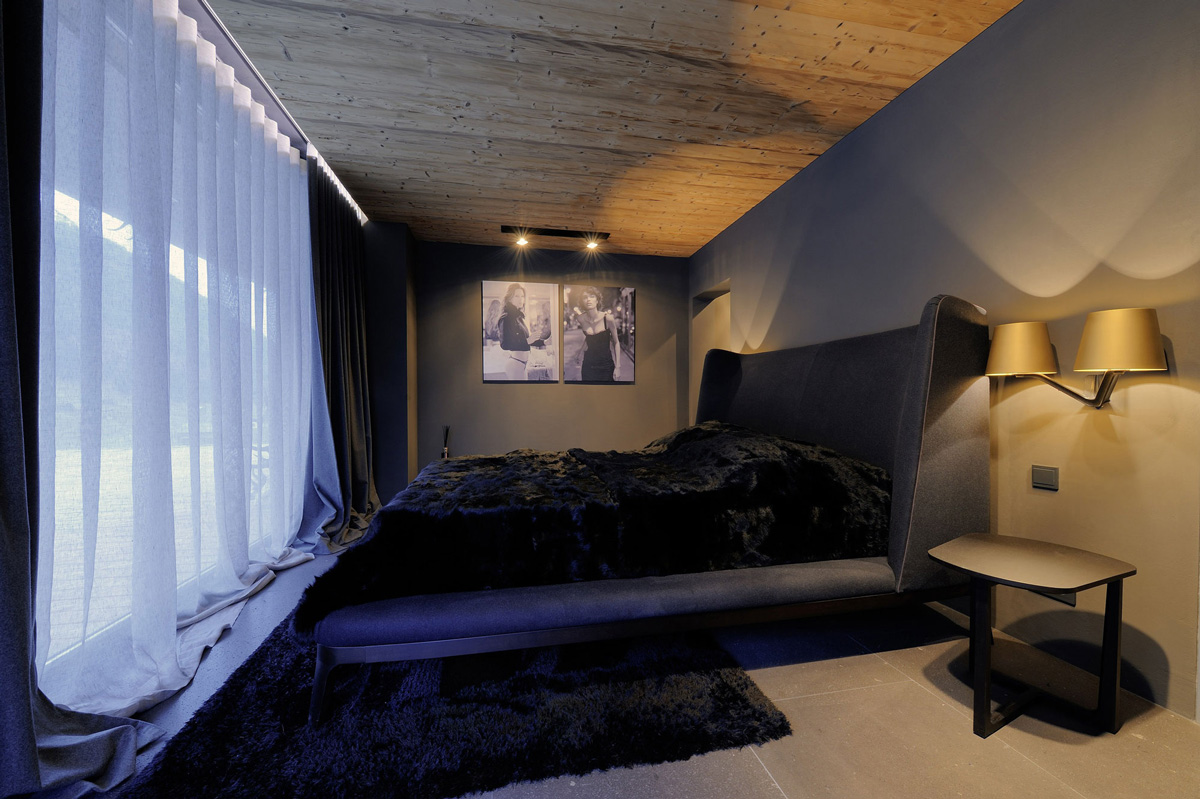 Bedroom, Rug, Lighting, Apartments in Kappl, Austria