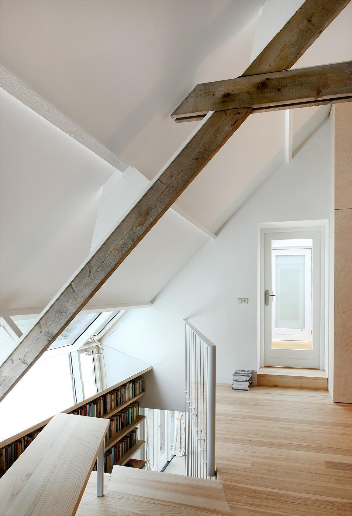Bookshelf, Barn Conversion in Geldermalsen, The Netherlands