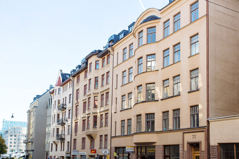 Building, Loft Apartment in Kungsholmen, Stockholm