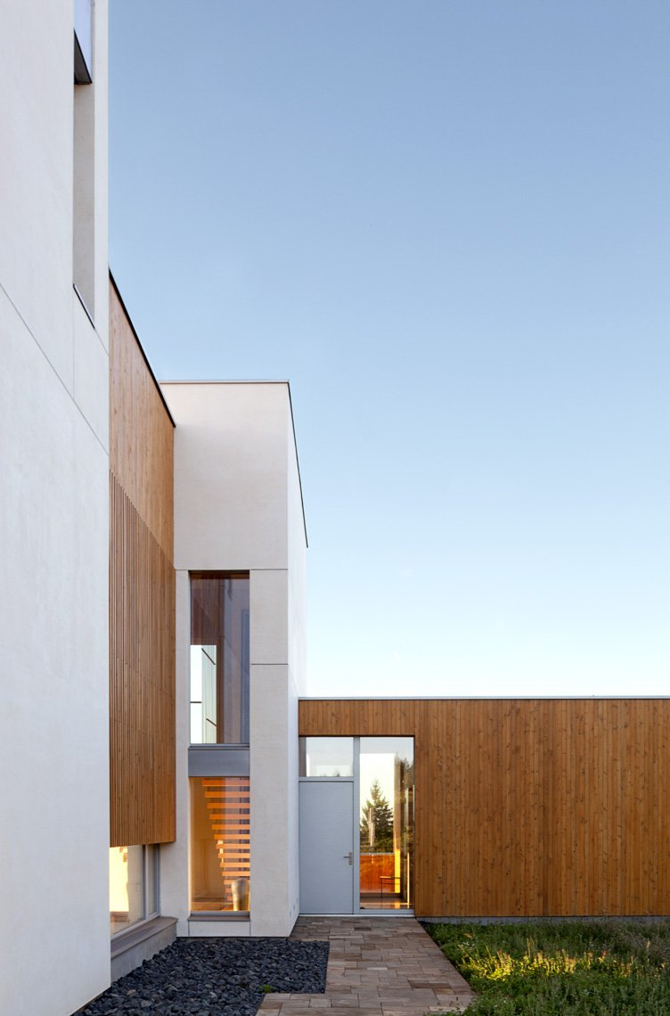 Entrance, Sustainable House in Newberg, Oregon