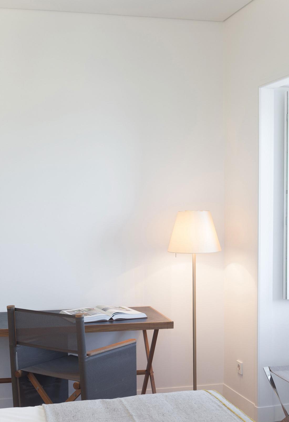 Floor Lamp, Desk, Boutique Hotel in the Heart of Alfama, Lisbon