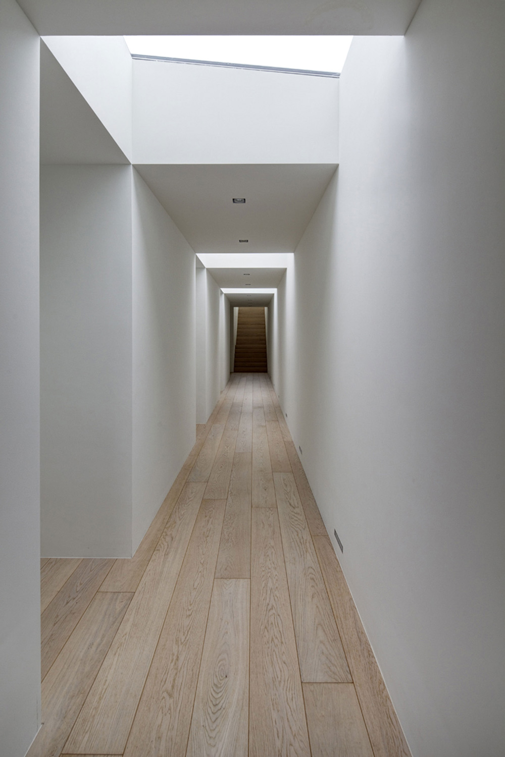 Hallway, Modern Home in Oosterhout, The Netherlands