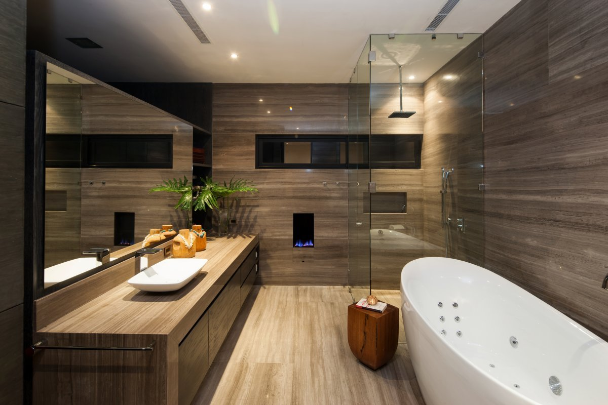 Marble Bathrooms Collect this idea 30 Marble Bathroom Design