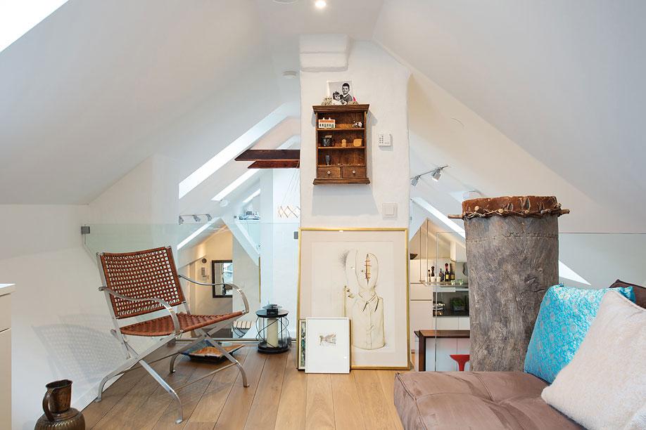 Mezzanine, Loft Apartment in Kungsholmen, Stockholm