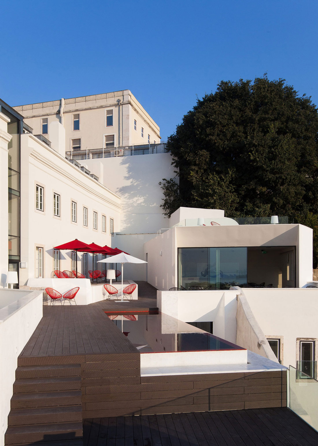 Pool, Terrace, Boutique Hotel in the Heart of Alfama, Lisbon