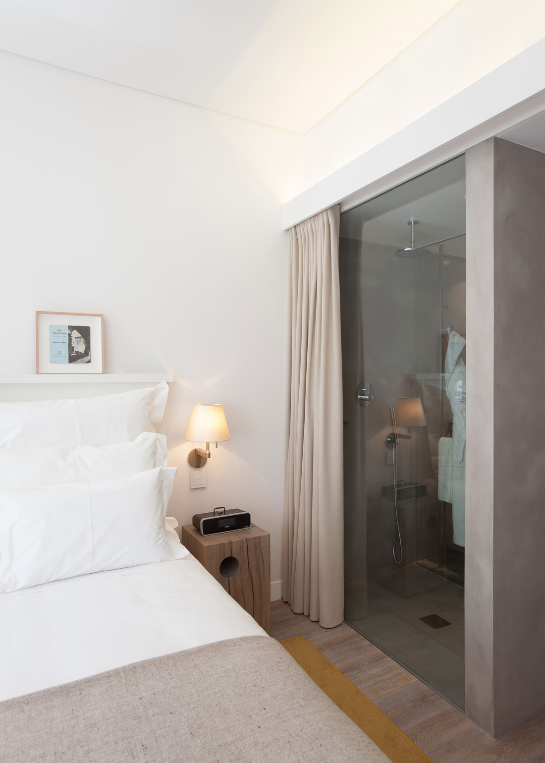 Shower Room, Glass Door, Boutique Hotel in the Heart of Alfama, Lisbon