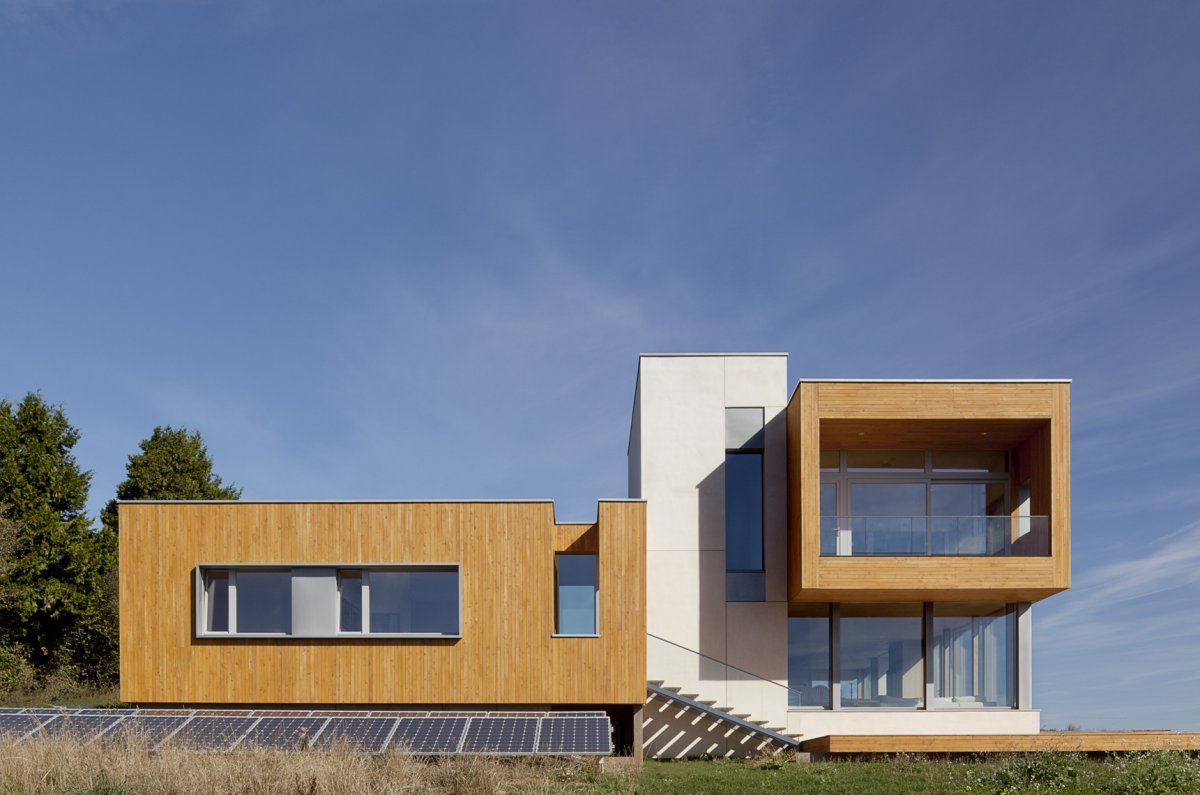 Solar Panels, Sustainable House in Newberg, Oregon