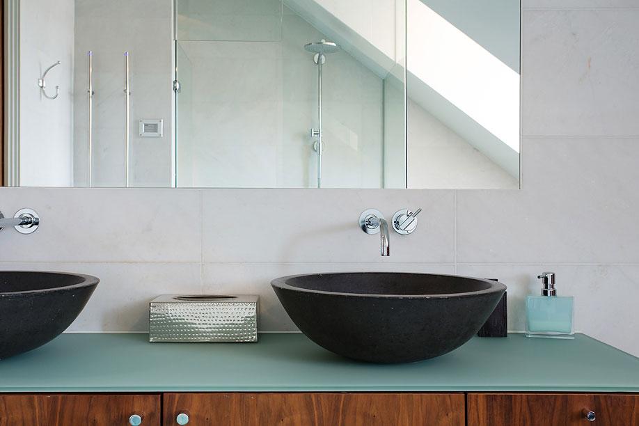Stone Sink, Loft Apartment in Kungsholmen, Stockholm