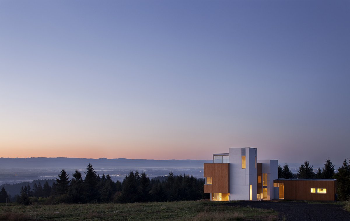 Valley Views, Sustainable House in Newberg, Oregon
