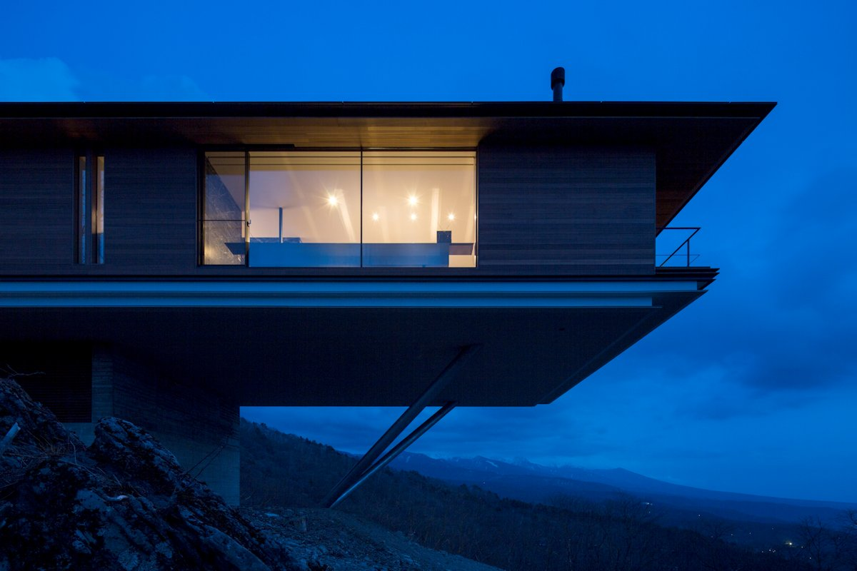 Amazing Views, Mountain House in Nagano, Japan