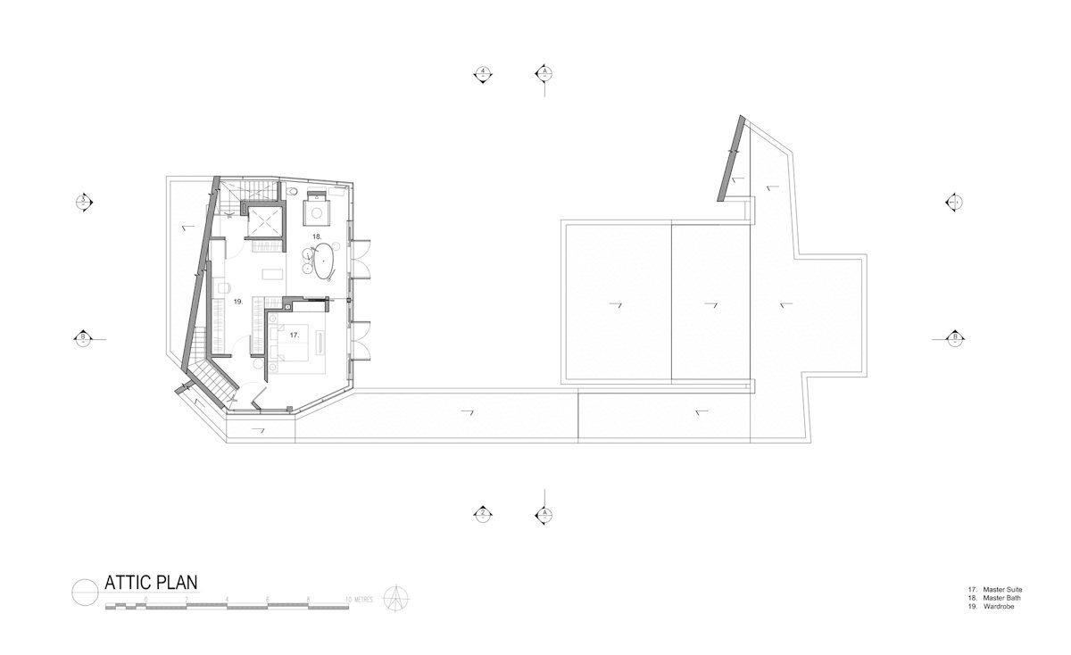 Attic Plan, Home in Singapore