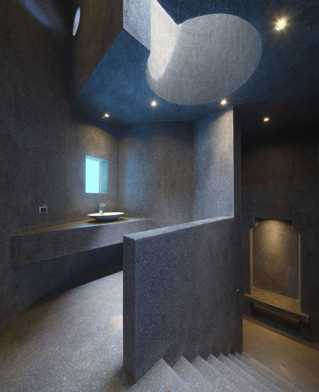 Bathroom, Home in La Planicie, Lima