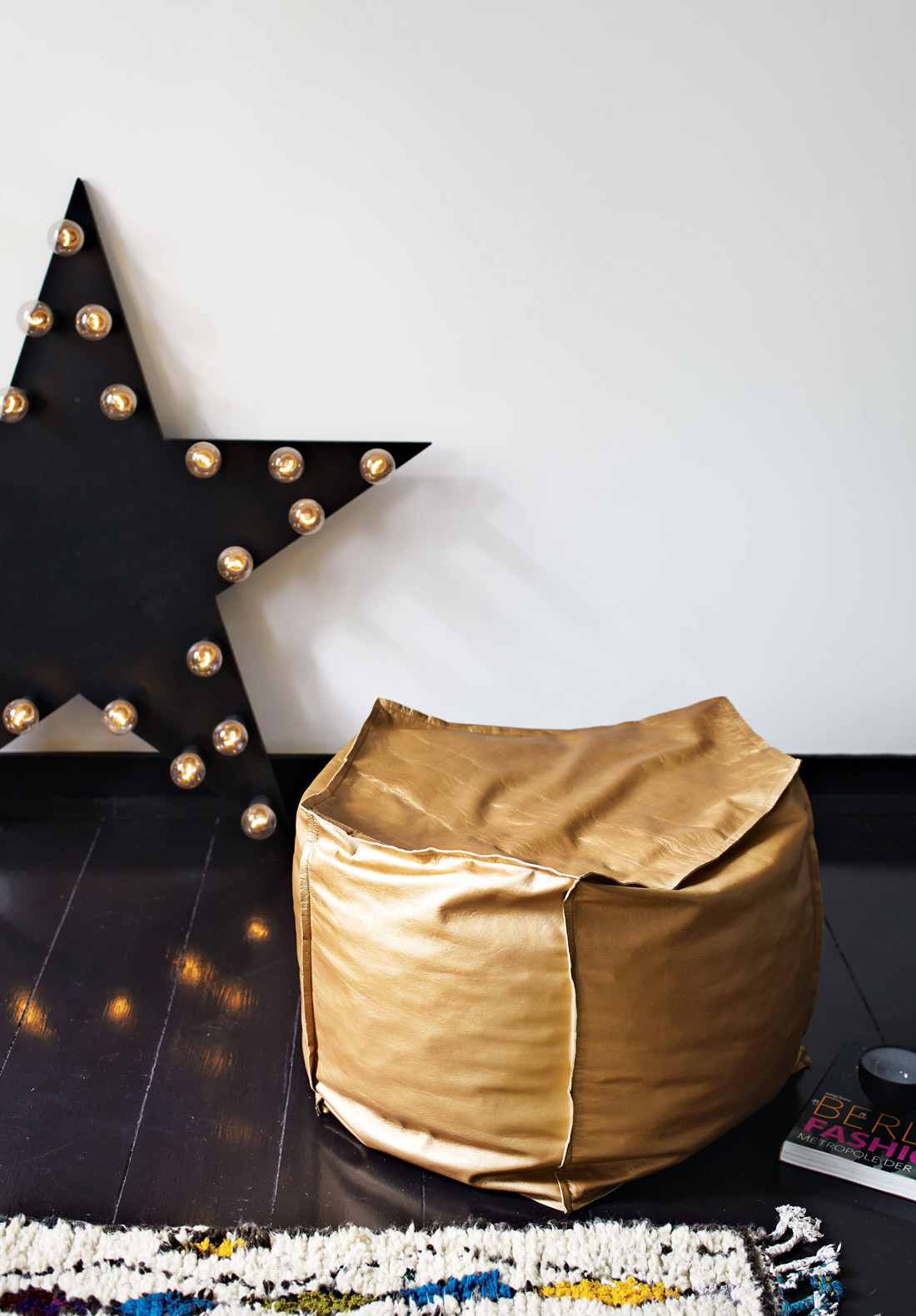 Bean Bag, Star Lighting, Apartment Renovation in Berlin, Germany