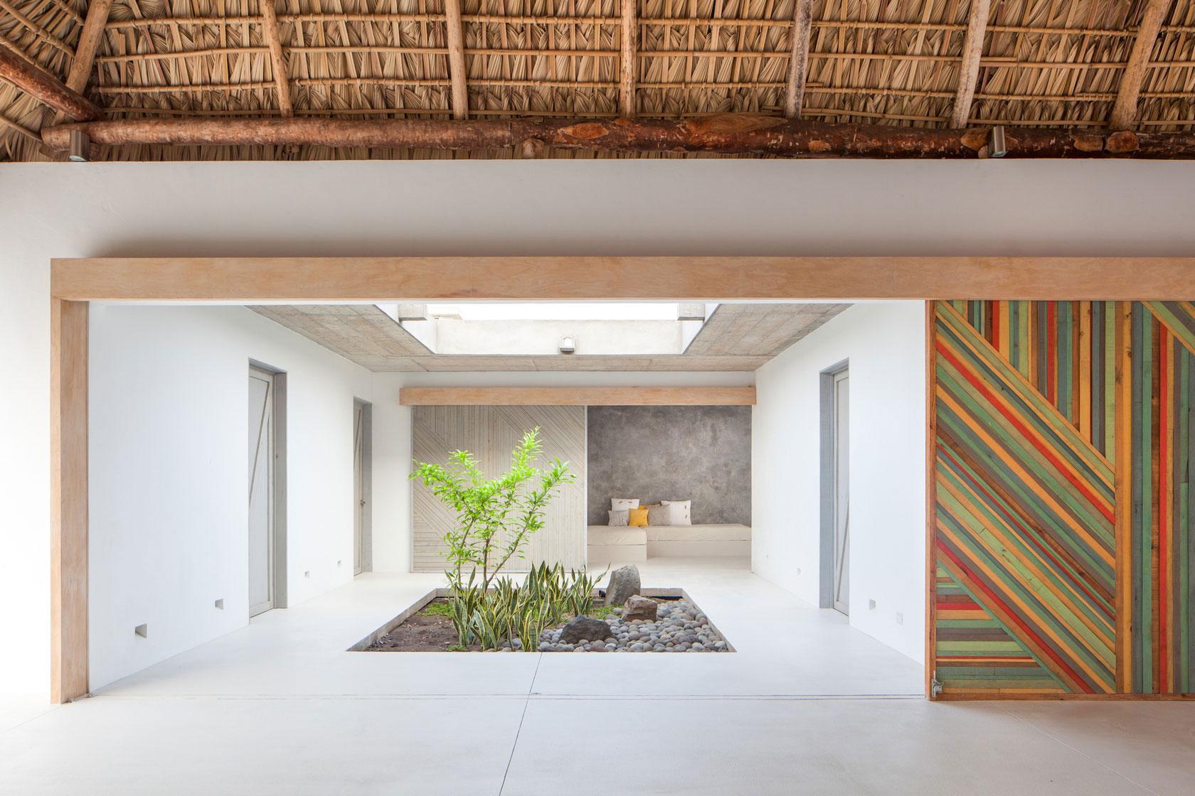 Courtyard, Garden, Beach House in San Salvador, El Salvador