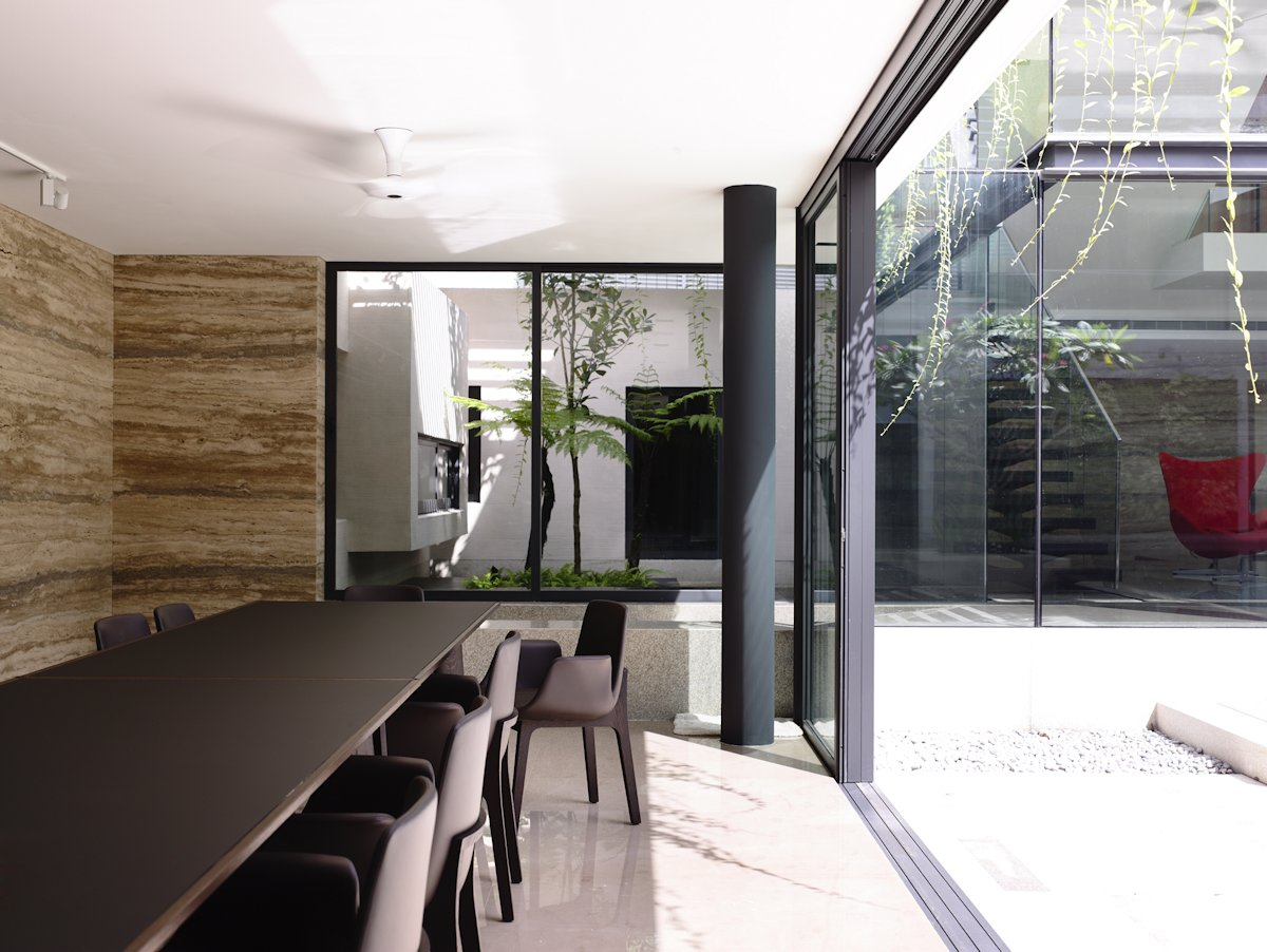 Dining Room, Sliding Doors, Home in Singapore