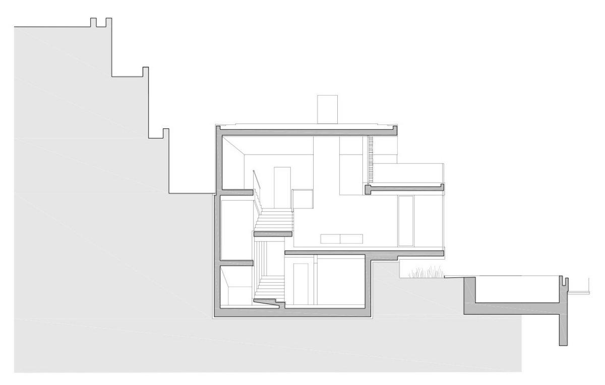 Elevation, House in Dubrovnik, Croatia
