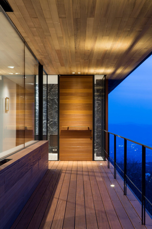 Entrance, Mountain House in Nagano, Japan