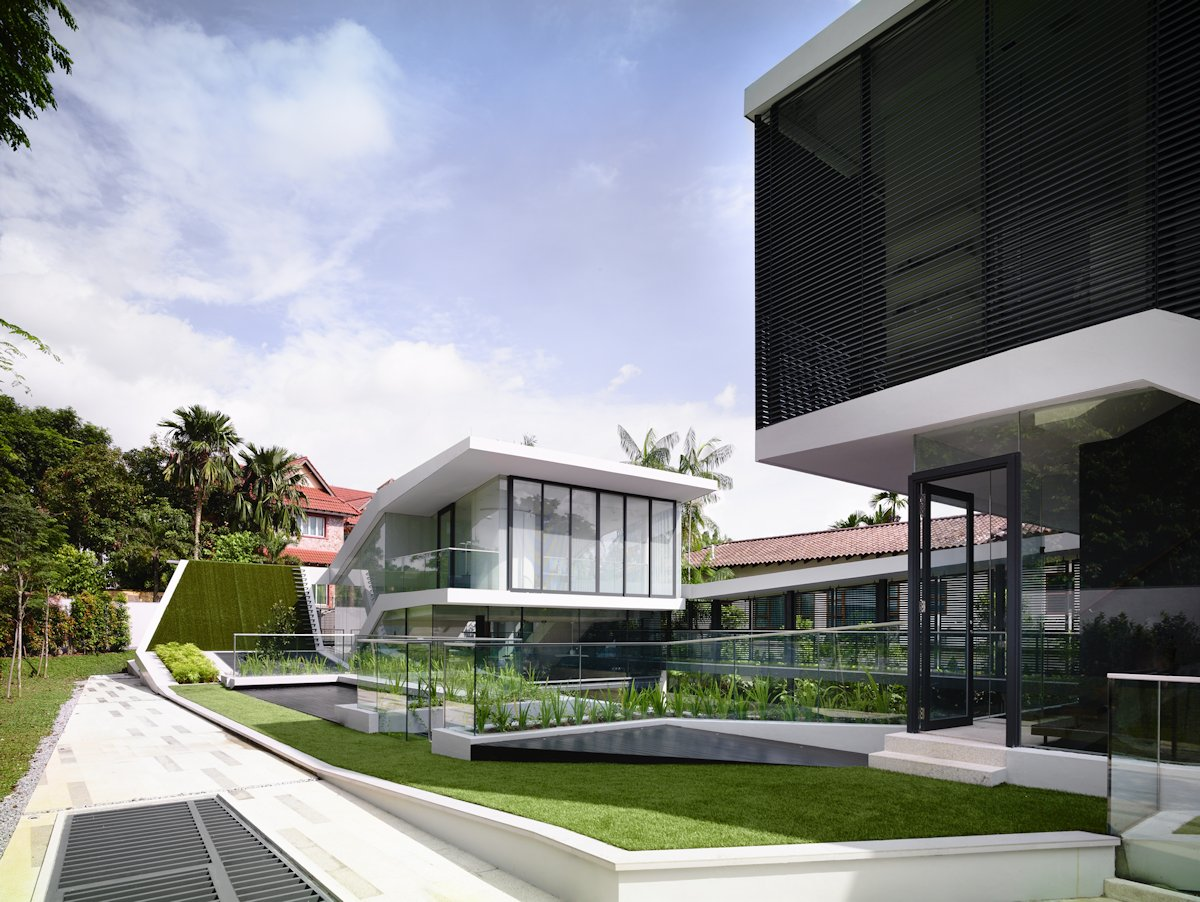 Glass Balustrading, Garden, Home in Singapore