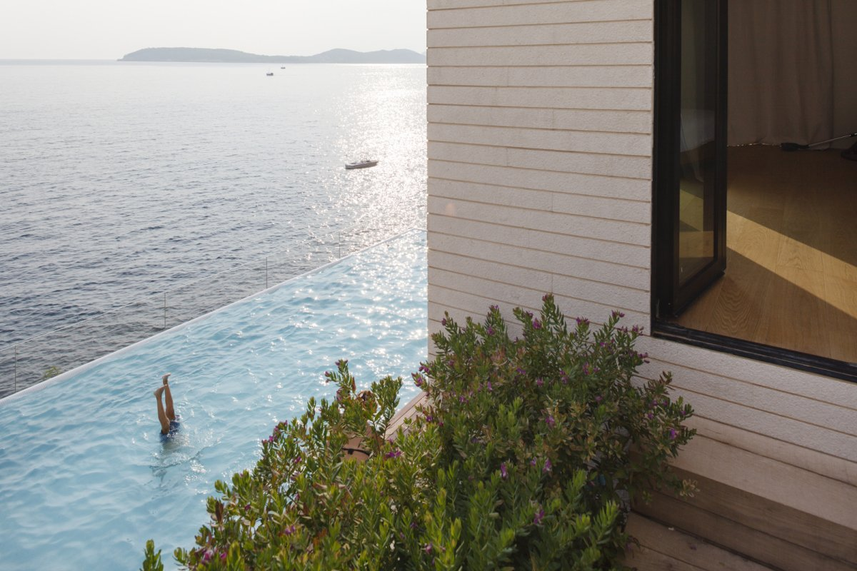 Pool, Sea Views, House in Dubrovnik, Croatia