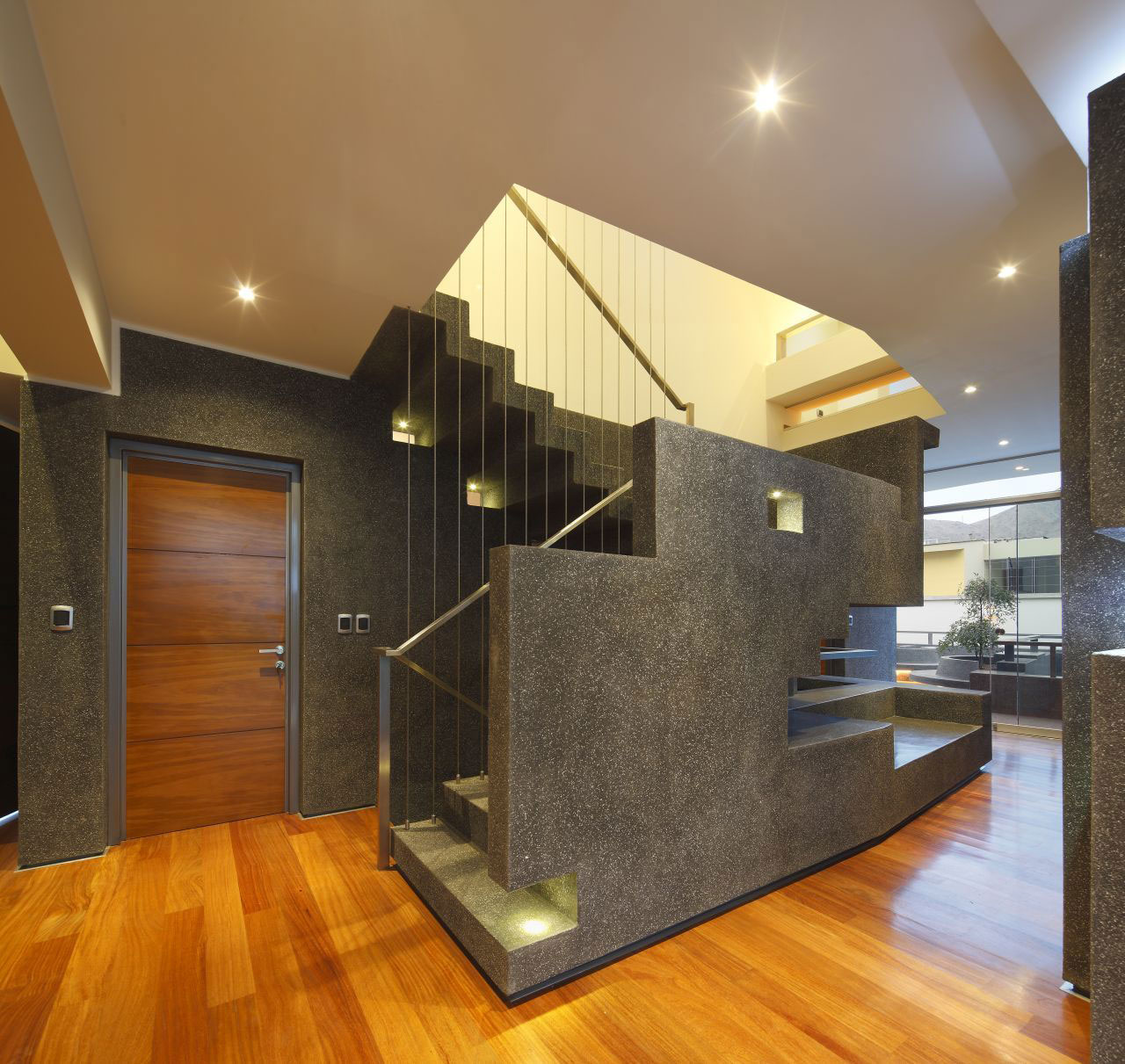 Stairs, Home in La Planicie, Lima
