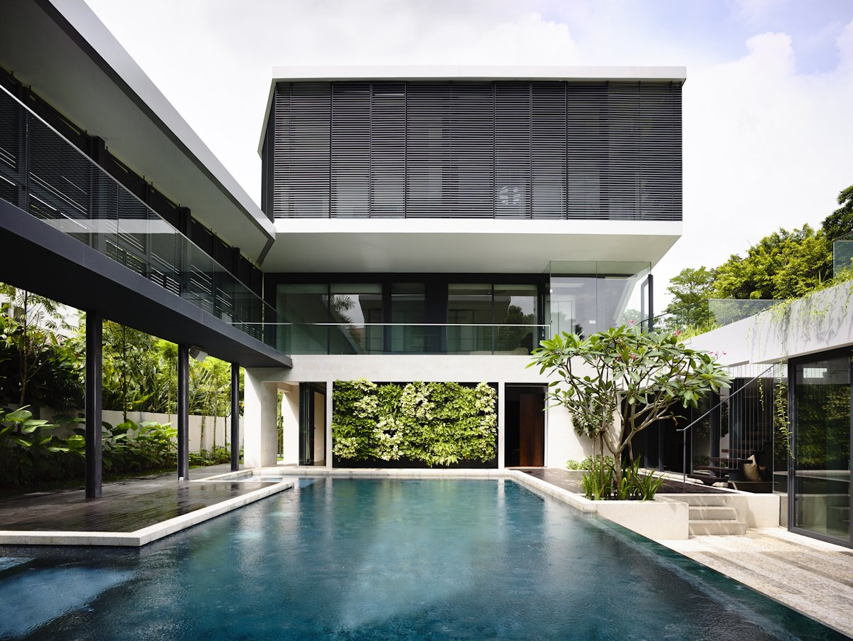 Swimming Pool, Home in Singapore