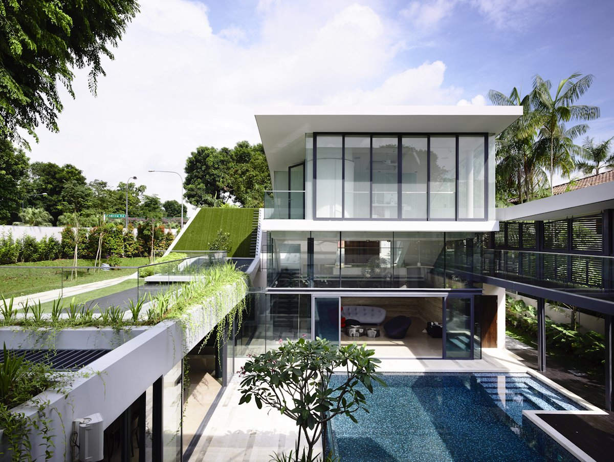 Terrace, Pool, Home in Singapore