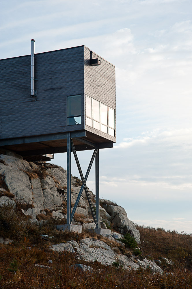 Windows, Superstructure, Cliff Cabin in Nova Scotia, Canada