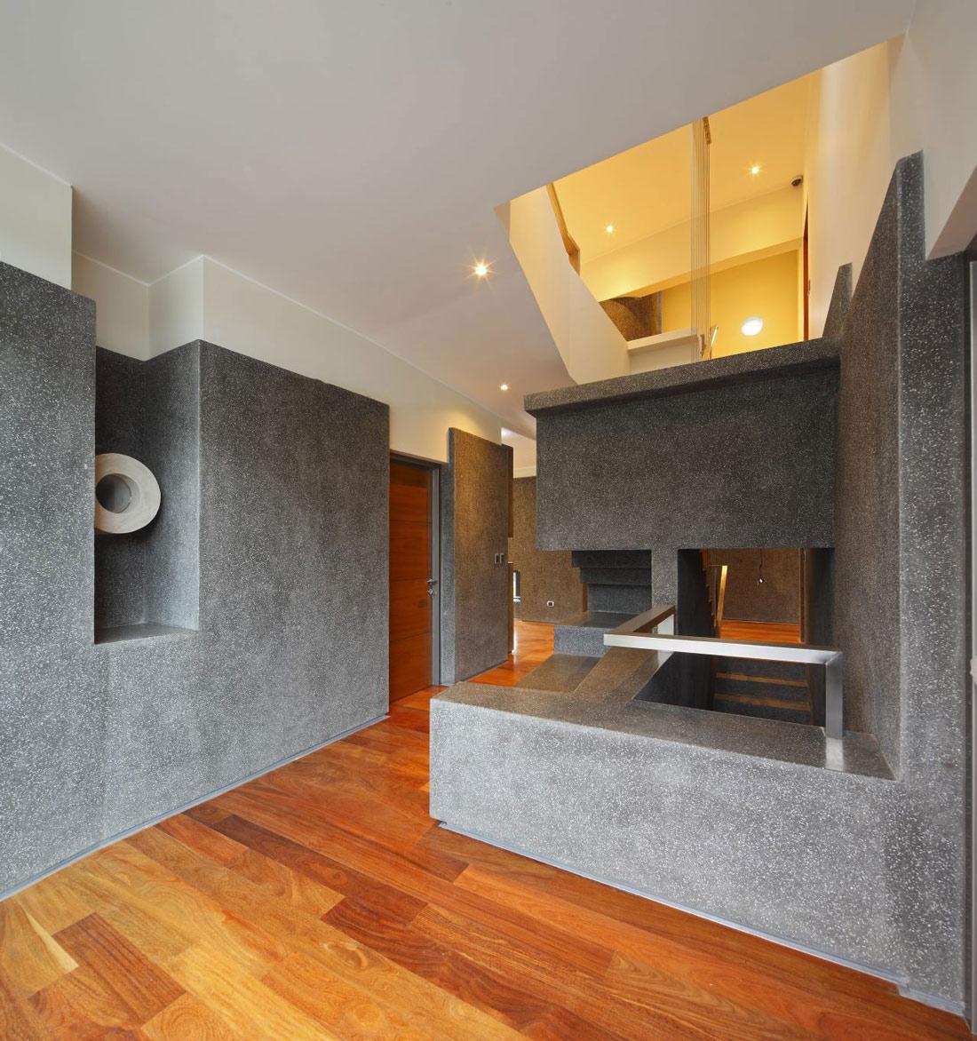Wood Flooring, Home in La Planicie, Lima