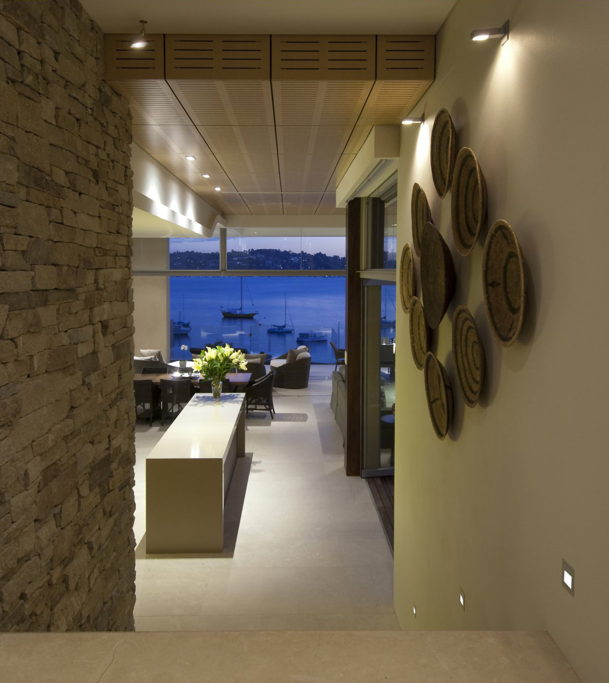 Art, Water Views, Waterfront Home in Vaucluse, Sydney
