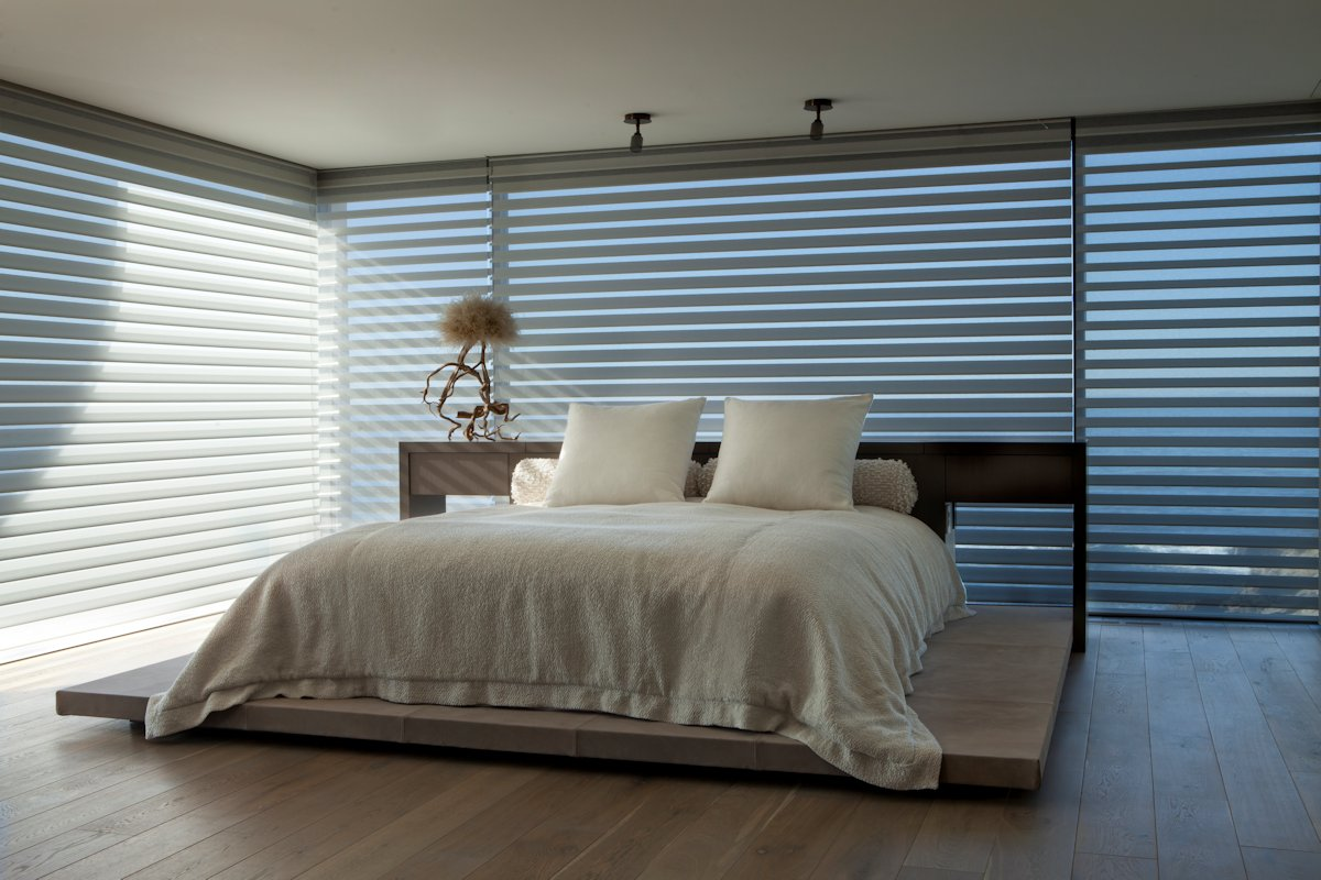 Bedroom, Blinds, Beach House in Laguna Beach, California