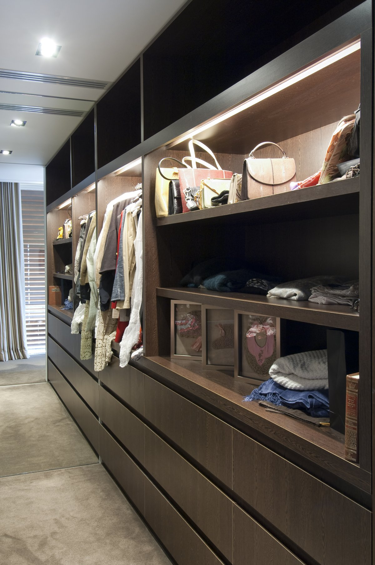 Clothes Storage Unit, Waterfront Home in Vaucluse, Sydney