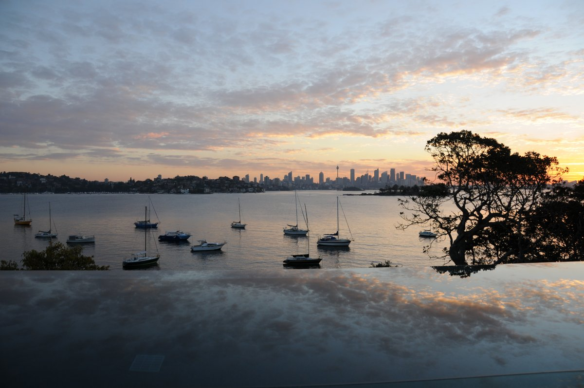 Infinity Pool, Water Views, Waterfront Home in Vaucluse, Sydney
