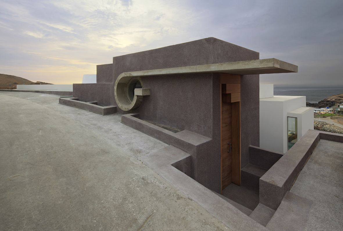 Roof Terrace, Beach House in Lima, Peru