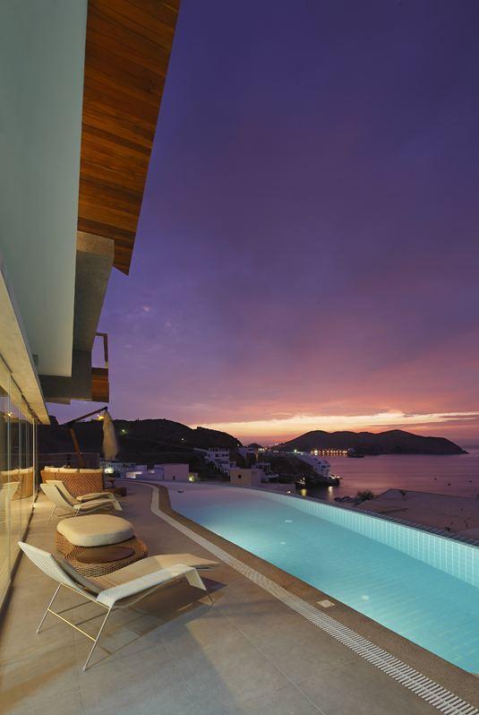 Sea Views, Pool, Lighting, Terrace, Beach House in Lima, Peru