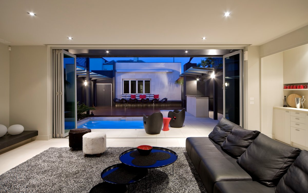 Sofa, Rug, Coffee Table, Contemporary Home in Brighton, Australia