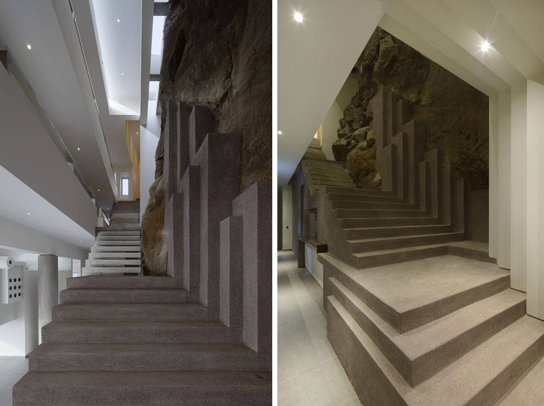 Stairs, Beach House in Lima, Peru