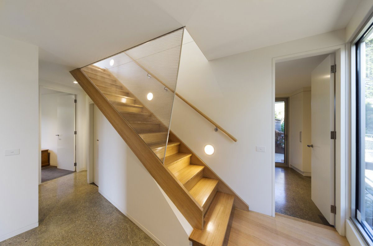 Stairs, Sailing Inspired House in Victoria, Australia