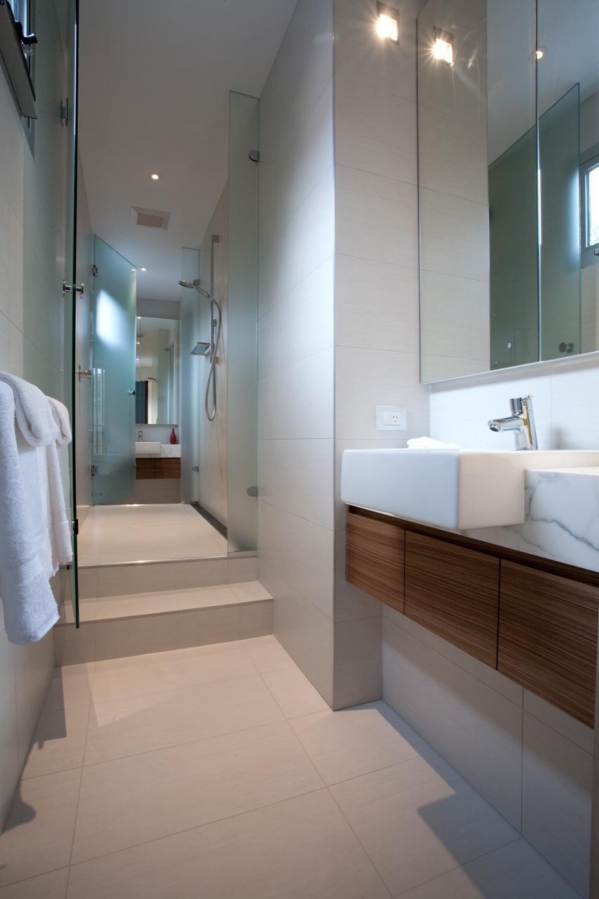 Bathroom, Kew House in Melbourne