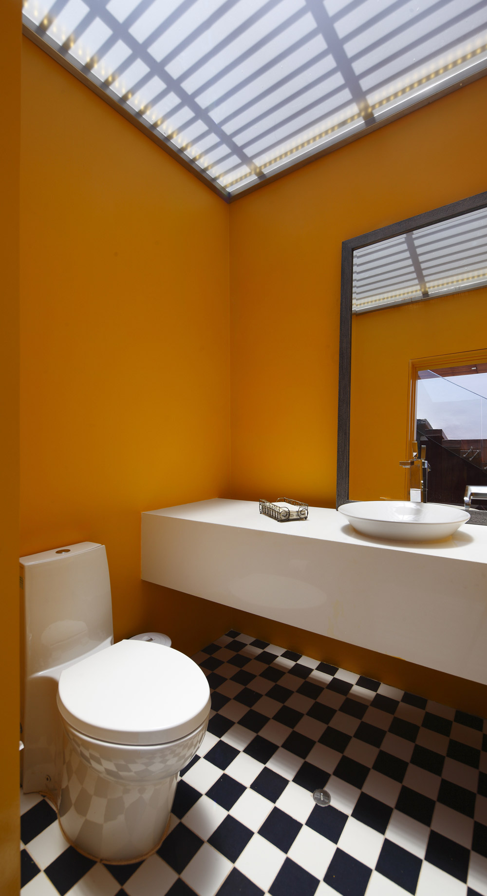 Bright Bathroom, Luxury Modern Home in Lima, Peru