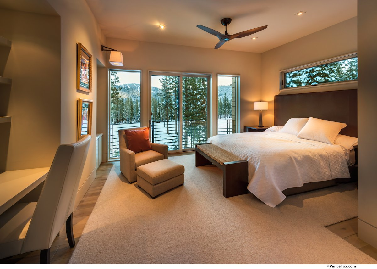 Bedroom, Home near Lake Tahoe, California