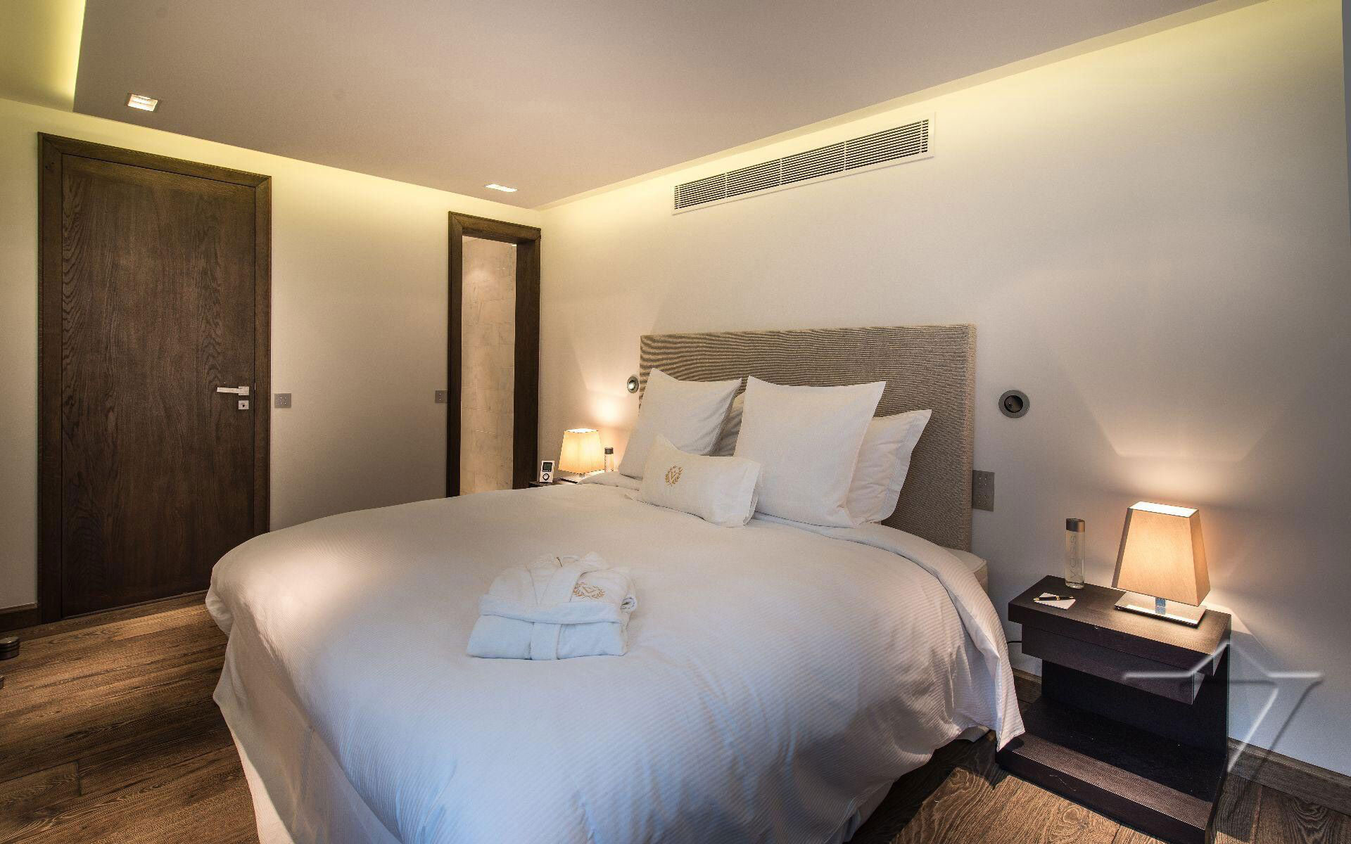 Bedroom, Lighting, Side Tables, Luxury Holiday Villa in Saint-Tropez, France