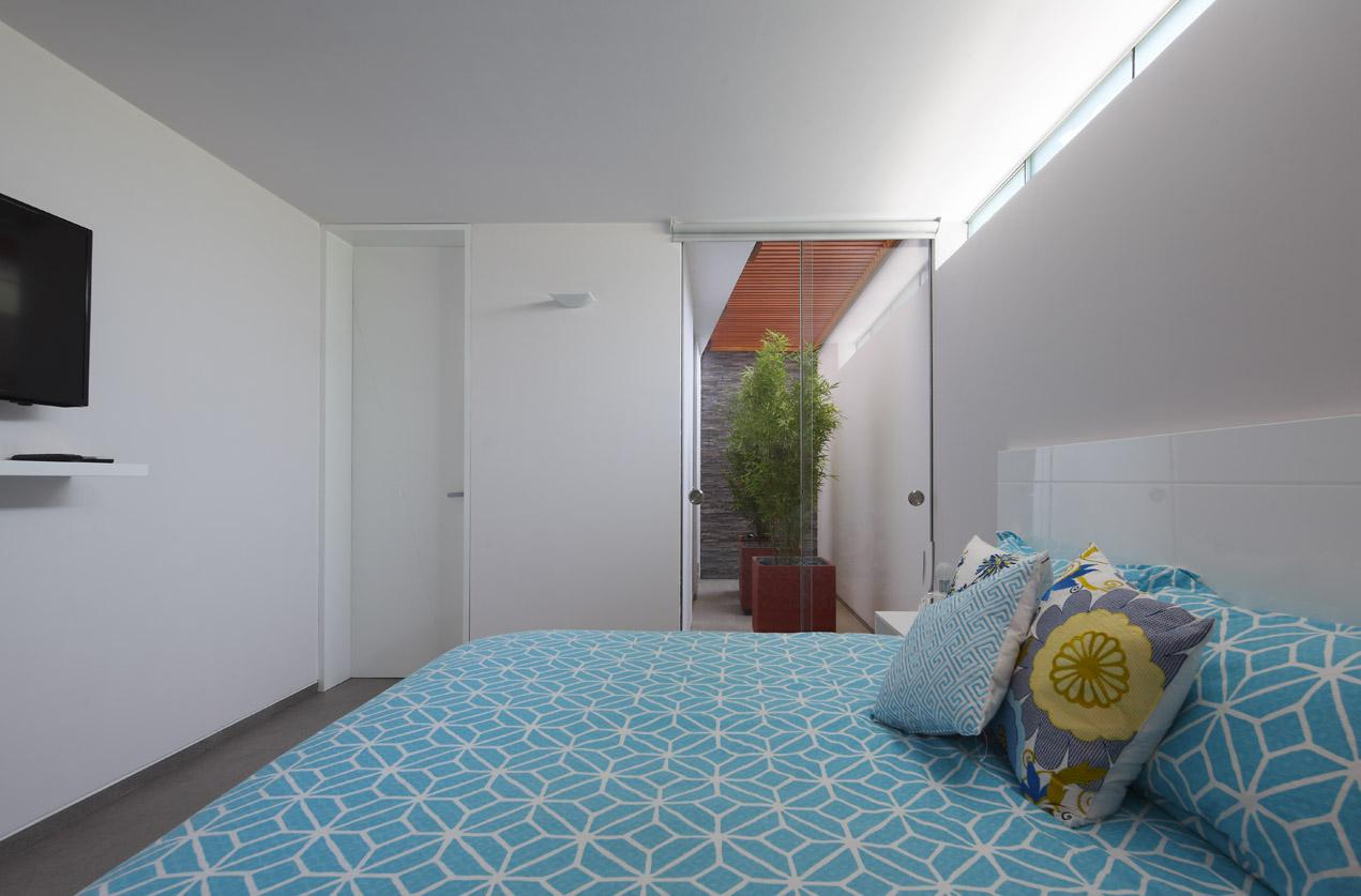 Bedroom, Luxury Modern Home in Lima, Peru