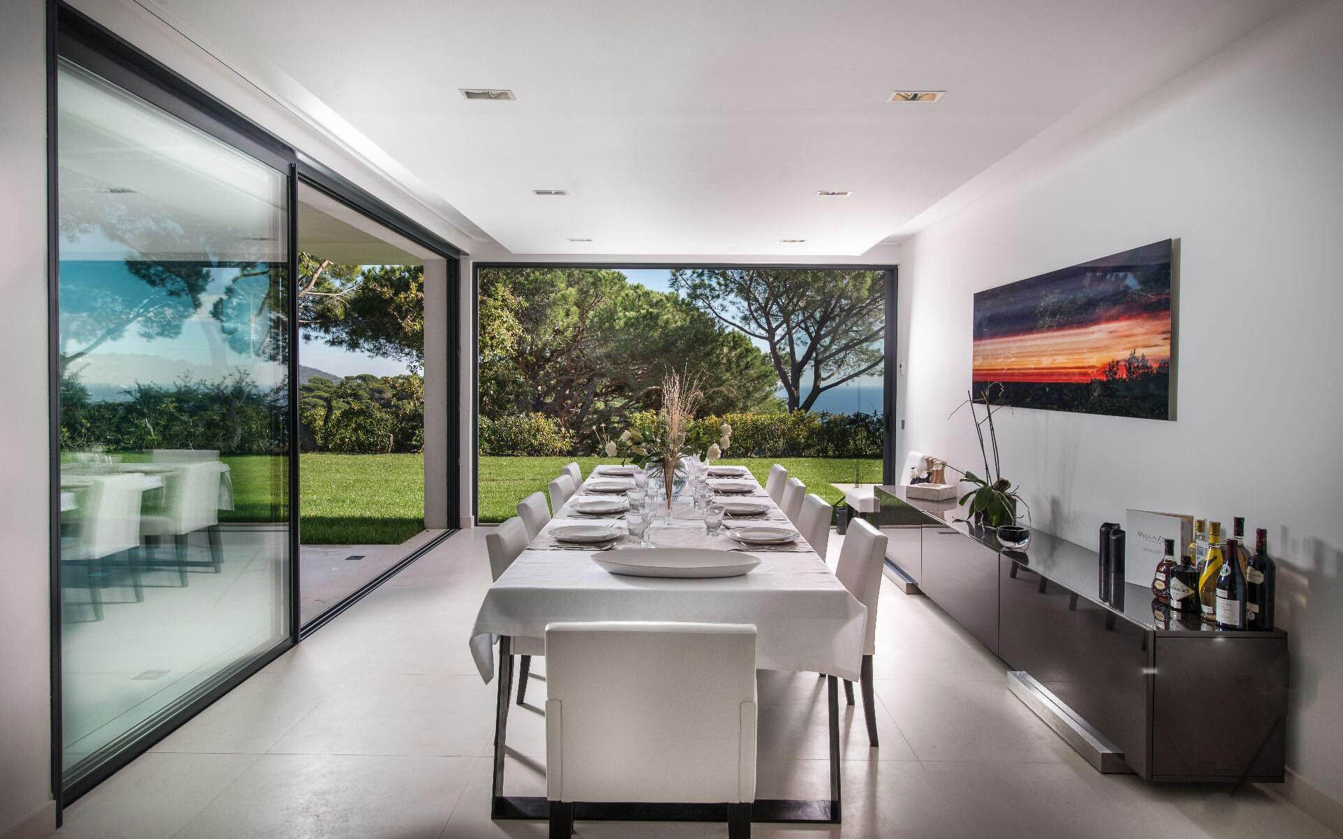 Dining Room, Luxury Holiday Villa in Saint-Tropez, France