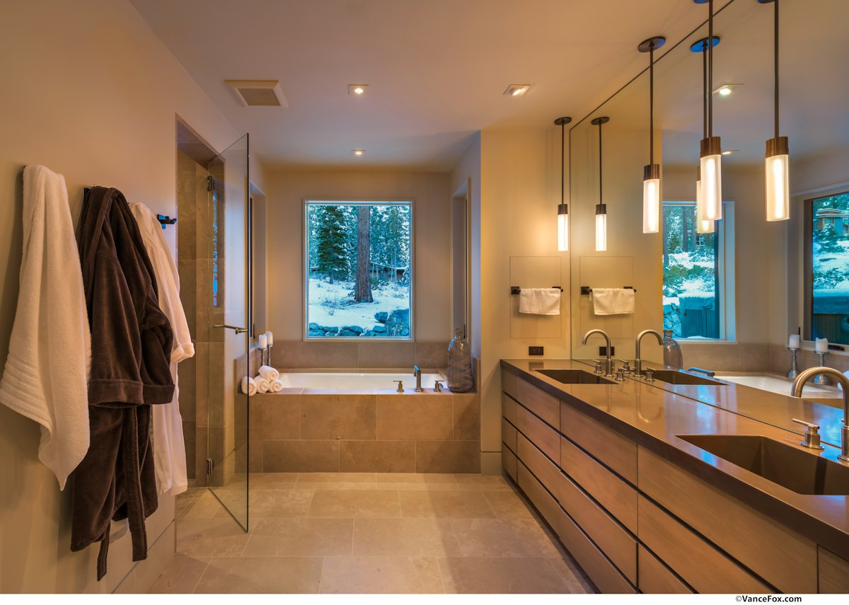 Double Sinks, Bath, Home near Lake Tahoe, California