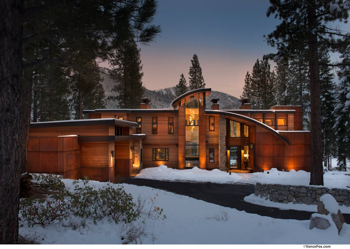 Driveway, Entrance, Home near Lake Tahoe, California