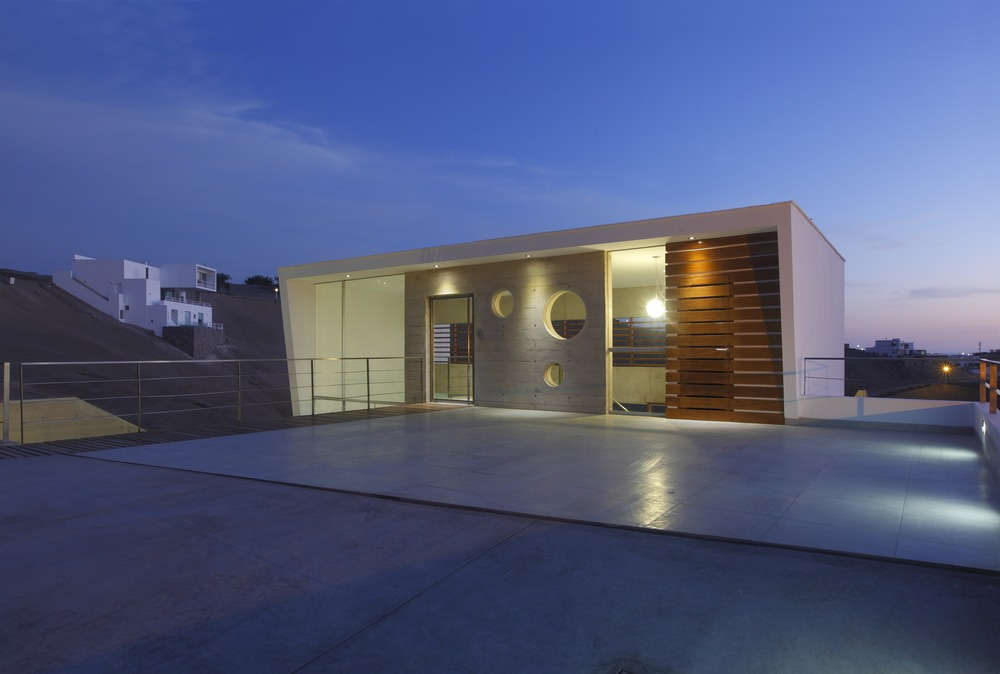 Driveway, Roof, Entrance, Stunning Home situated above Palillos Beach, Peru